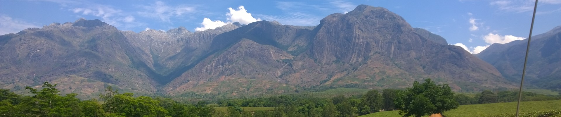 Sayama view to Mt Mulanje